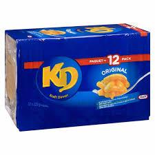 Picture of KRAFT MAC & CHEESE DINNER 12/225G